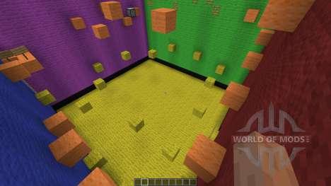 Rubix Cube Parkour for Minecraft