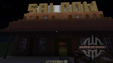 Western Saloon for Minecraft
