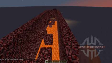 Lava speed run for Minecraft