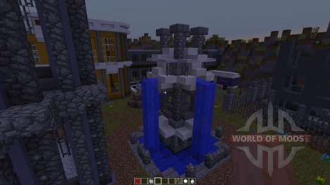 Big City Life Halbshooter for Minecraft