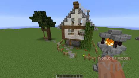 Medieval Fantasy House for Minecraft