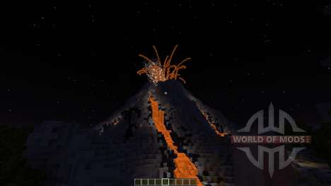 Volcano Island SG MAP for Minecraft