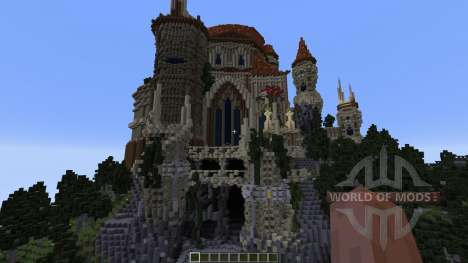 Wizards Temple for Minecraft