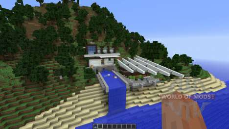 Modern Mountain House 1 for Minecraft