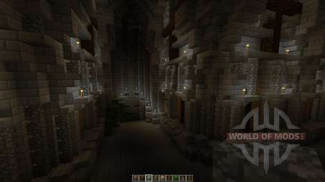 Postapocalyptic cathedral Halbshooter for Minecraft