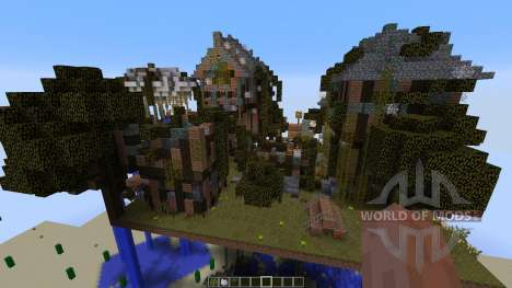 Abandoned Steampunk Island for Minecraft