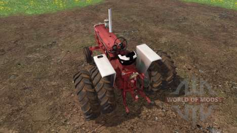 Farmall 1206 dually wheels for Farming Simulator 2015