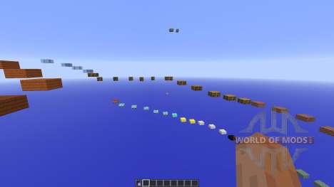 SkyBlock Sprint Parkour for Minecraft