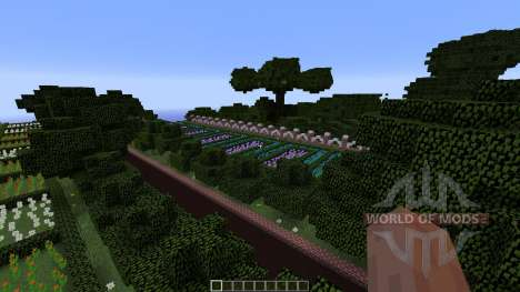 Mansion in the woods for Minecraft