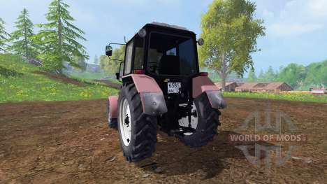MTZ-Belarus 1025 v1.2 for Farming Simulator 2015