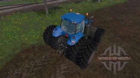 New Holland T8.320 dual wheels for Farming Simulator 2015