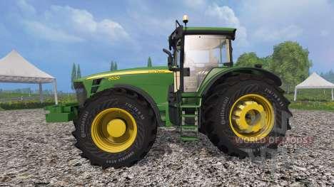 John Deere 8530 v1.5 for Farming Simulator 2015