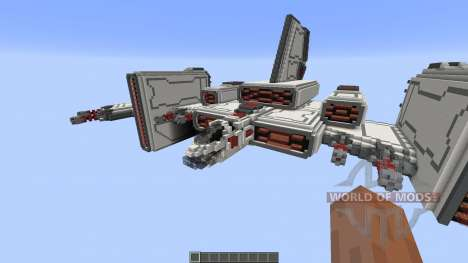 Barracuda Heavy starfighter for Minecraft