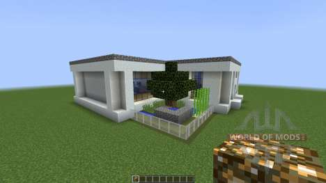 MODERN HOUSE 3 THE CABIN [1.8][1.8.8] for Minecraft