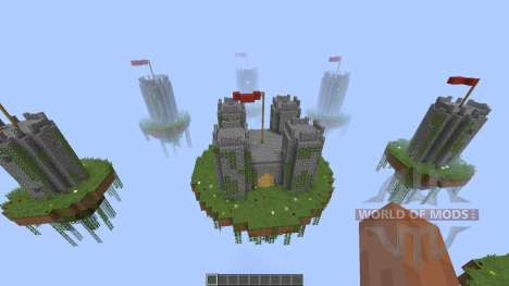 Castle Map for SkyWars [1.8][1.8.8] for Minecraft