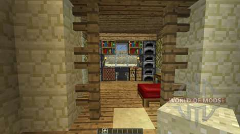 AMBROSIA Simple Desert House [1.8][1.8.8] for Minecraft