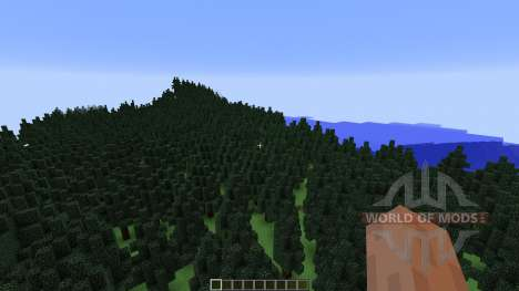 Mount Helium Part of Project Minecraftia for Minecraft