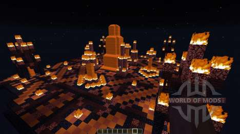Temple of Svarog The fire God [1.8][1.8.8] for Minecraft