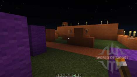 Paint ball map for Minecraft