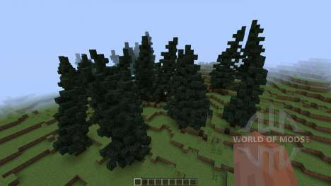 TheFireMountains Fantasy Landscape [1.8][1.8.8] for Minecraft