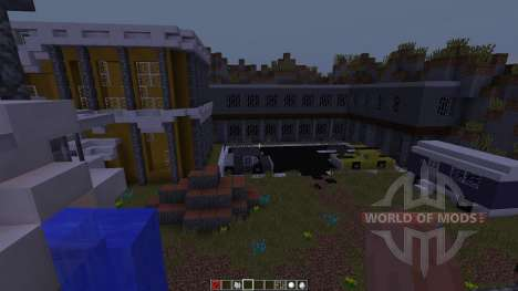 Big City Life Halbshooter for Minecraft