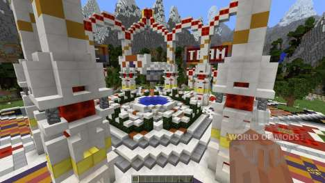 Professional Hub Spawn Lobby for Minecraft