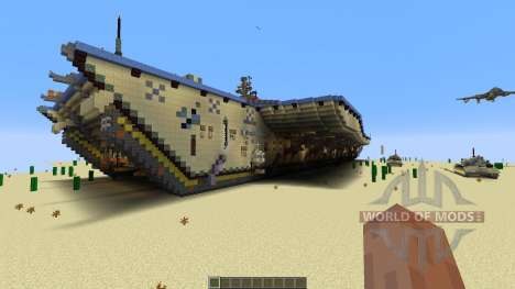 Opposite Aircraft Carrier for Minecraft