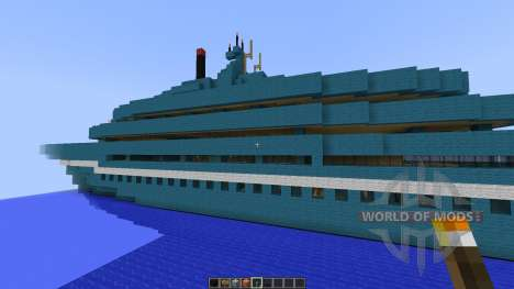 Cruise Yacht full interior [1.8][1.8.8] for Minecraft