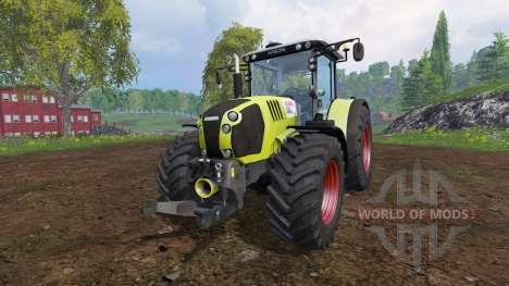 CLAAS Arion 650 v2.1 for Farming Simulator 2015