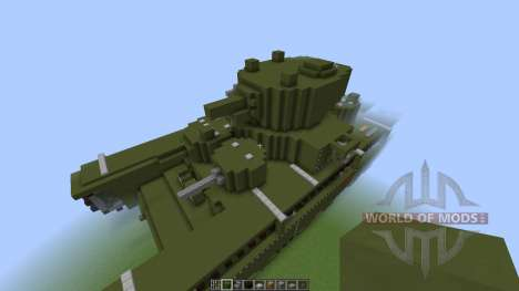 Soviet T-35 Heavy Tank [1.8][1.8.8] for Minecraft