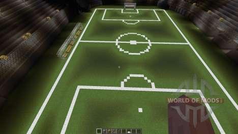 Huge soccer staduim for Minecraft