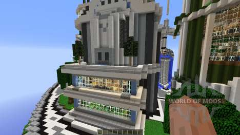SuperHG Future City for Minecraft