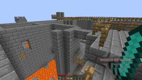 Bkajnls Castle CTF map [1.8][1.8.8] for Minecraft