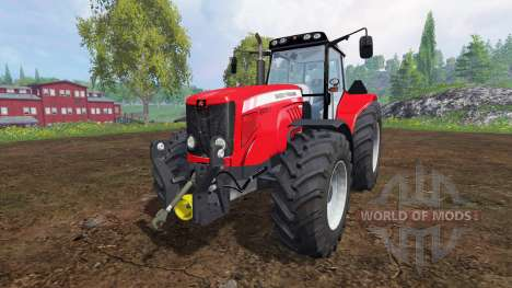Massey Ferguson 7480 v2.0 for Farming Simulator 2015