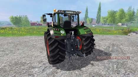 Fendt 724 Vario SCR v4.5 for Farming Simulator 2015