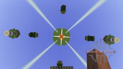 Natural Islands Skywars map [1.8][1.8.8] for Minecraft