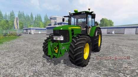 John Deere 6930 Premium v3.0 for Farming Simulator 2015
