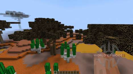 Mesa Desert Chuck Display [1.8][1.8.8] for Minecraft