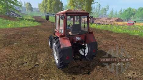 MTZ-82.1 v1.3 for Farming Simulator 2015