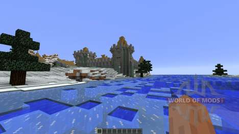 Frostfell Island for Minecraft
