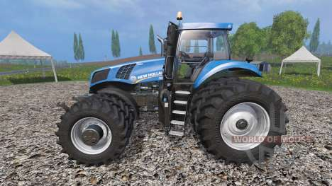 New Holland T8.435 v1.3 for Farming Simulator 2015