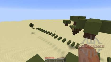 Tiki Parkour Challenging Parkour for Minecraft