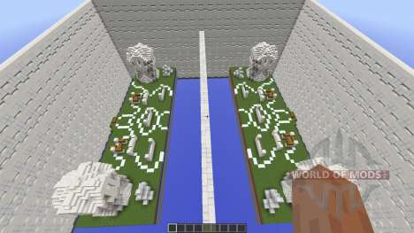 TNT Wars Map for Minecraft