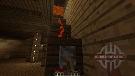 Burning House [1.8][1.8.8] for Minecraft