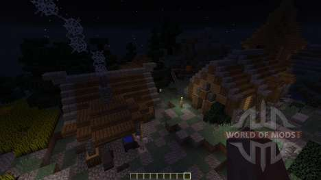 Medieval village for Minecraft