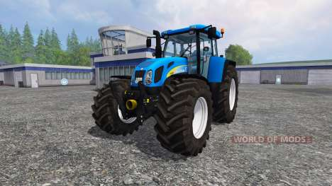 New Holland T7550 v3.0 for Farming Simulator 2015