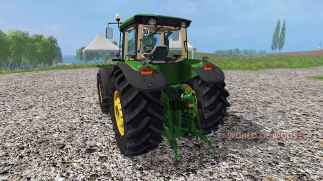 John Deere 8530 v1.4 for Farming Simulator 2015