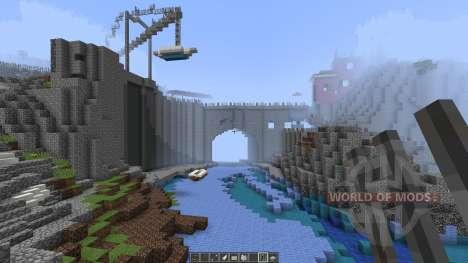 A cinque terre Manarola in Italy [1.8][1.8.8] for Minecraft