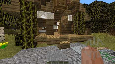 Minecraft Zombie Survival Map for Minecraft