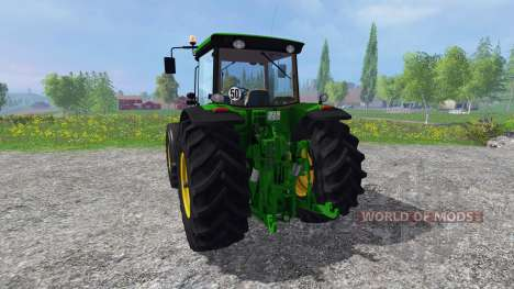 John Deere 8430 v3.0 for Farming Simulator 2015